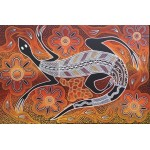 Aboriginal Goanna painting